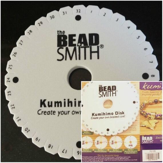 Beadsmith Kumihimo Braiding Disk 6 inch Round & Instructions | Etsy