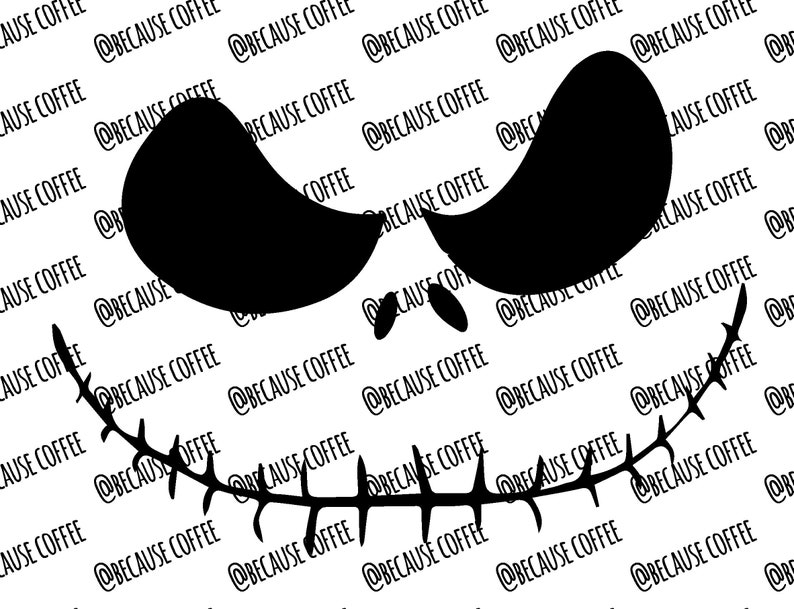 Jack Skellington Svg Filenightmare Before Christmas Etsy