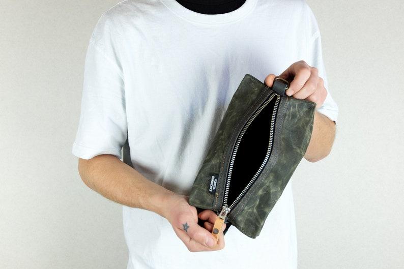 39a96b80bbec1 Reißverschluss-Tasche Kulturbeutel personalisierte Tasche