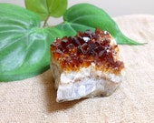 Citrine Crystal -Citrine Cluster -Healing Crystal -Office Decor -Birthday Gift -Hygge Home Decor