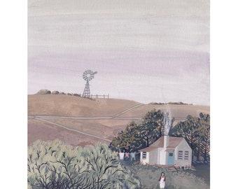 Art Print - The Cottage
