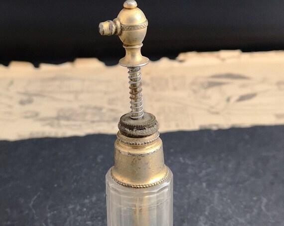 Vintage scent bottle, atomiser, Art Deco