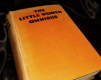 The little women omnibus, Collins clear type press, early 30's, Louisa May Alcott, Susan Coolidge