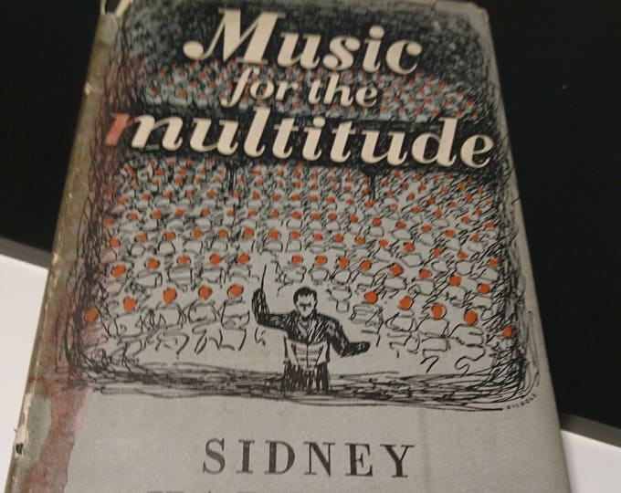 A 1947 edition of Music for the Multitude by Sidney Harrison, vintage 40's music book