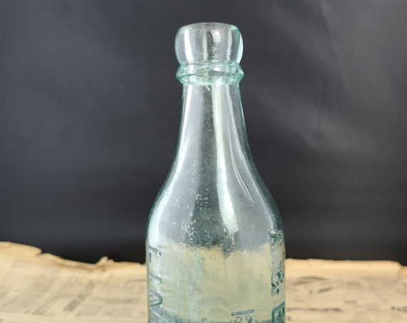 Antique beer bottle, brewery, A & B Hall