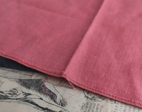 Vintage gents 1940's cotton handkerchief