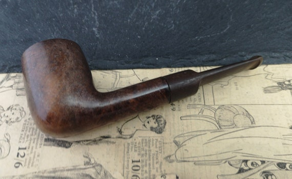 Vintage NCLR Briar wood pipe, tobacco pipe, estate smoking pipe