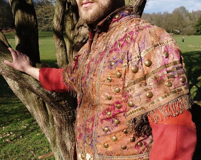 19th Century Turkish Ottoman jacket, mens antique jacket