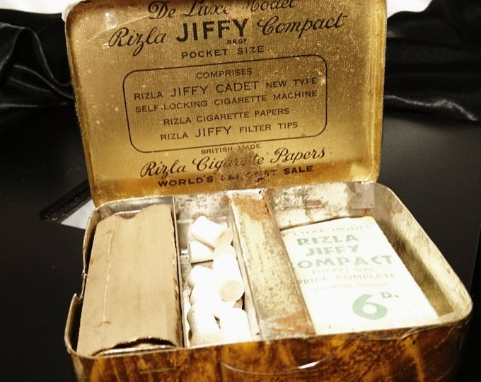 Vintage Rizla jiffy cadet, vintage cigarette roller, Rizla brand, smoking collectables