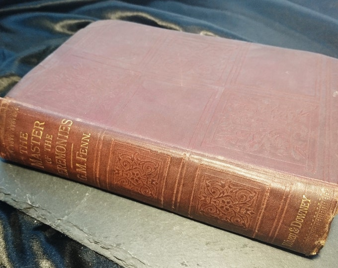 The Master of the Ceremonies: A Novel, George Manville Fenn, 1887, Victorian books
