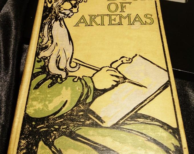 The book of Artemas, anon, 1917, men at war, antique books