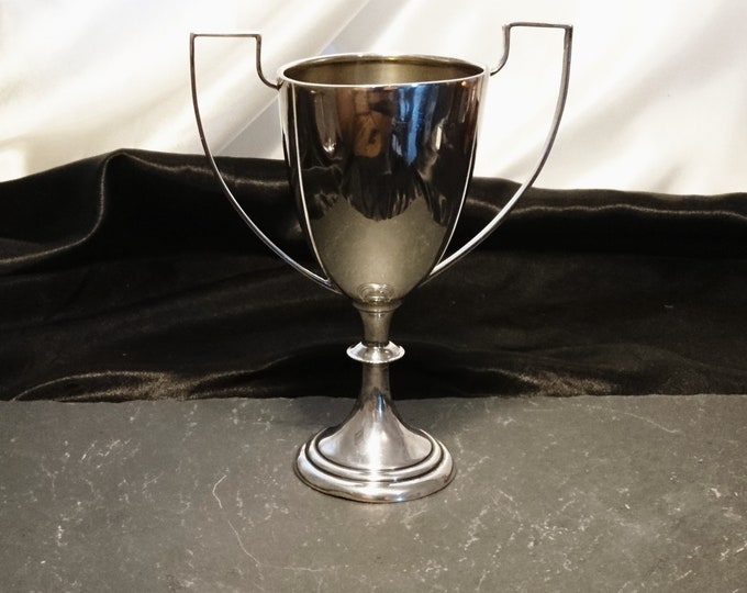 Vintage sterling silver trophy, 1920's, Mappin and Webb, no engraving