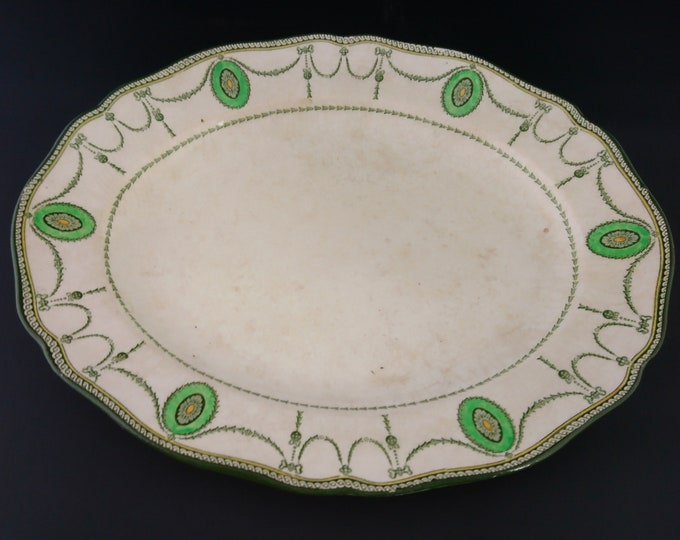Vintage serving platter, Royal Doulton Countess, 1920's serving plate