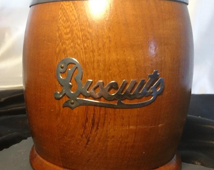 Antique Edwardian biscuit barrel, original ceramic liner