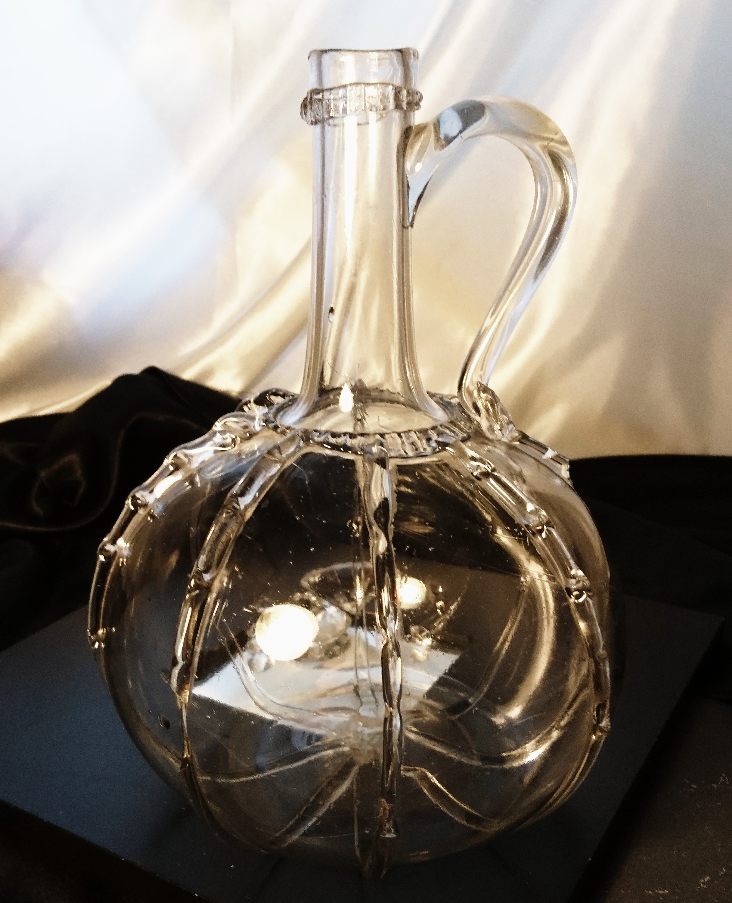 b8886e11dce Antique glass decanter