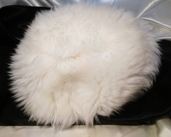 Vintage 50's Connor tuscan lamb fluffy cloche hat, ladies vintage hat