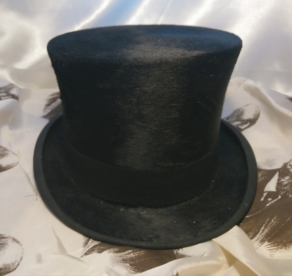 Antique top hat / riding / hunting / dressage, Scott and Co