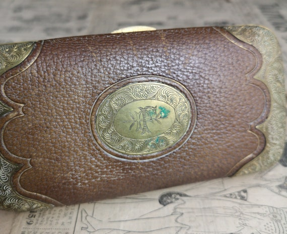 Antique Tiffany and Co cigar case, cheroot holder, cigarette case