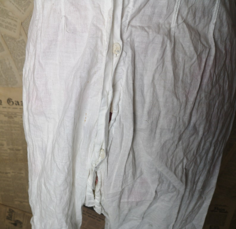 camisole and bloomers all in one broderie anglaise Antique Victorian combination undergarment