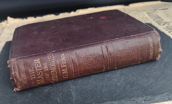 The Master of the Ceremonies, George Manville Fenn, Victorian book
