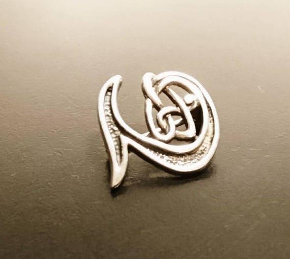 Vintage silver celtic brooch, celtic sterling silver, vintage brooches