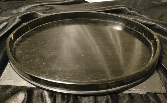 Antique ebony tray, vanity tray, real ebony, dressing table, Edwardian