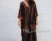 A. MaLa Handworks - One of a kind Hand Dyed Kaftan - Rayon Fabric