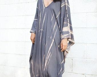 21ccf9824e A. RAYON kaftan,Beach cover up,Plus size dress,Resortwear Summer party  dress,kaftan,Beach wear, Hand tie dyed loose dress, Oversized, Caftan