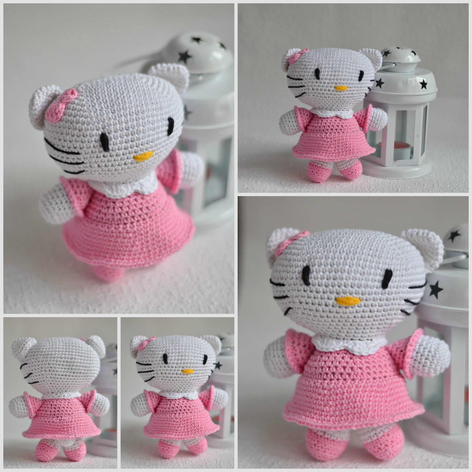 Hello Kitty Hello Kitty Amigurumi Dancer Hello Kitty Etsy