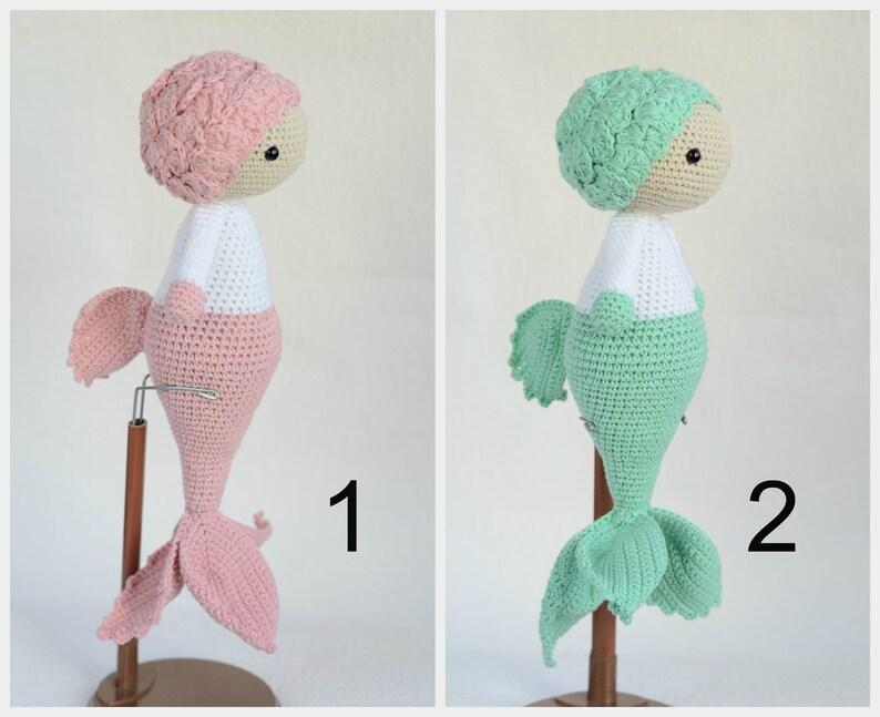 Emily the Little Mermaid amigurumi pattern - Amigurumipatterns.net | 647x794