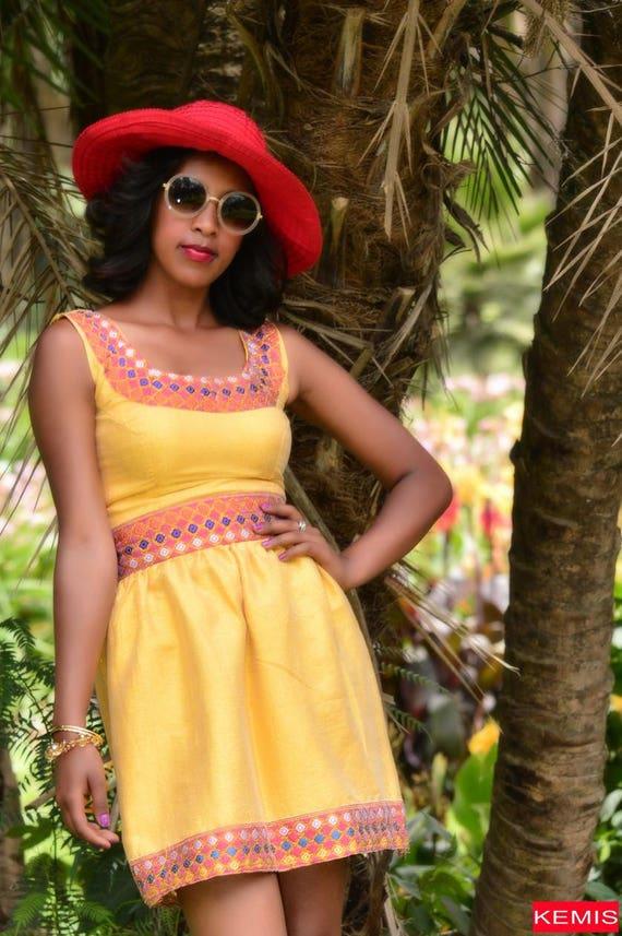 Ethiopian dress Habesha dress Ethiopian clothing Ethiopian  |Ethiopian Fashion Clothes