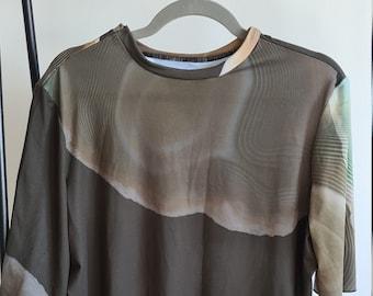 One Off Ladies T-Shirt  - Agate Print - Sample Sale