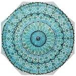 Mandala Umbrella - Wet Blue