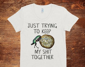 3df0a9b6a7 Keep It Together // Funny T Shirts // Mens Funny Tshirt // Shit Together // Mens  Tshirt // Mens Graphic Tee // Vintage // Vintage T Shirt