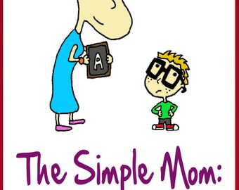 New Mom-The Simple Mom Pregnancy Book-Mommy Bookshelf-FREE Mom Gift with Any Mommy LaDy Club Purchase-Bonus 19 Superfoods Recipes