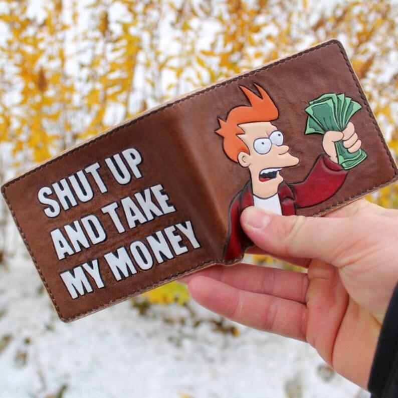 Frye Futurama Wallet - Natural Leather *FREE UPS SHIPPING*