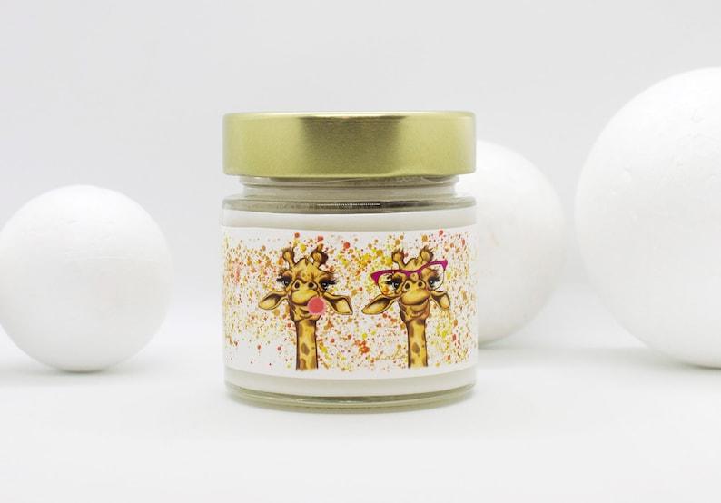 Giraffe Vanilla Soy Candle