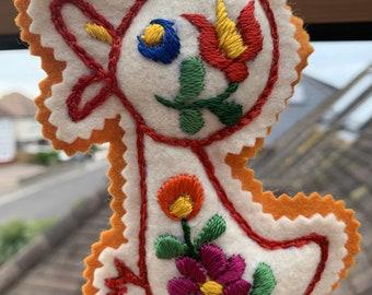 Duckings, Chicks & Butterflies - embroidered