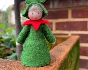 Felt Dolls - Christmas theme