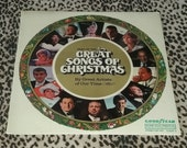 NEW SEALED Various quot Best Of The Great Songs Of Christmas quot Vinyl Record Mint Xmas Record Retro Vinyl Christmas Music Records Retro 70 39 s