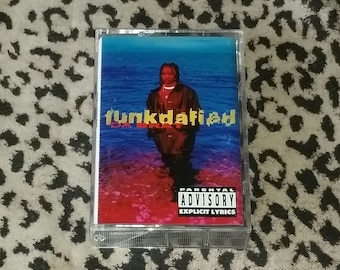 """Da Brat """"Funkdafied"""" [Cassette Tape] Vintage Hip Hop Cassette Tape 90's Hip Hop Cassette Female MC Girl Power Rap Classic Hip Hop Cassettes"""