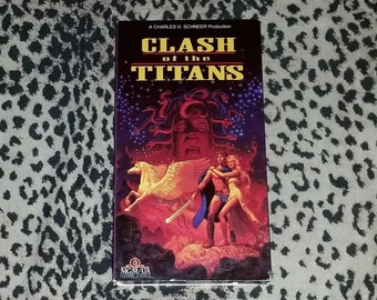 Clash of the Titans [VHS] Rare VHS Cinema Classic Film Historical VHS Greek Mythology Movie Vhs Tapes Rare Vintage Vhs Charles H Scheener