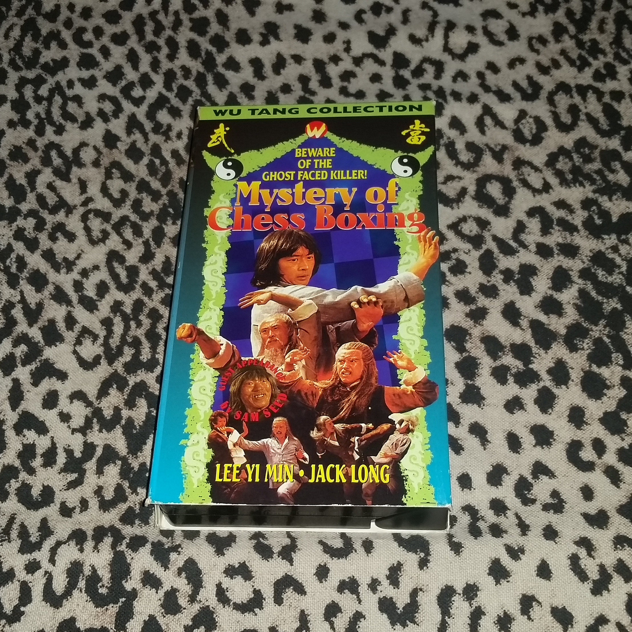 Mystery of Chess Boxing [VHS] Wu Tang Collection Vintage Rare Kung Fu VHS  Wu Tang Clan Inspiration Movies Ghostface Killer Htf Oop VHS