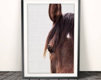 woodland nursery ,Horse Print ,animal print ,nursery art ,Horse wall art, Photography, horse decor, Baby Shower, Nursery Decor,Nursery print
