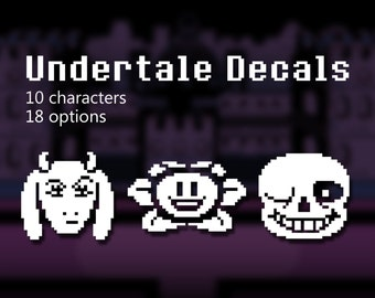 Undertale Decals