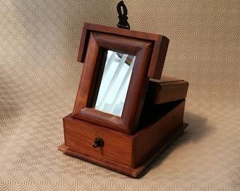 Mirror Jewelry Box Etsy