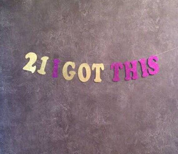 21st Birthday Decorations Happy Party