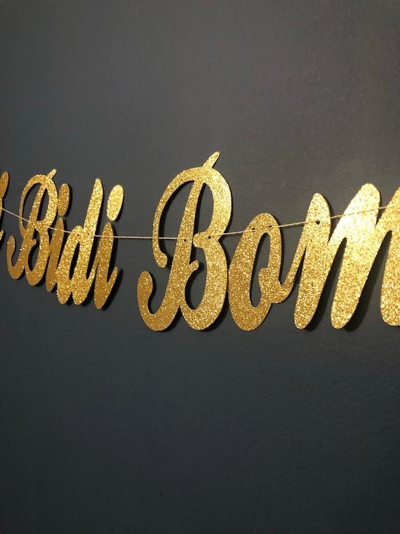 Selena Selenas Bidi Bidi Bom Bom Fun Banner Party Banner Etsy