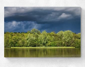 England Landscape Buscot Park Storm