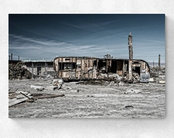 Salton Sea - The Trailer at Salton Sea Marina